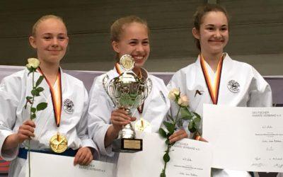 Sensationeller Titel bei Deutschen Meisterschaften für das Karate Dojo Lich