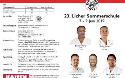 23. Licher Sommerschule