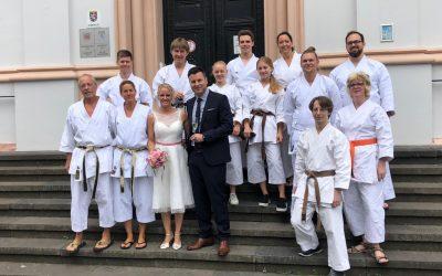 Karate-Hochzeit in Lich
