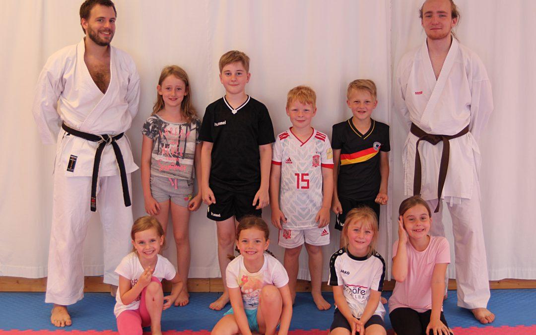 Ferienspiele im Karate Dojo Lich