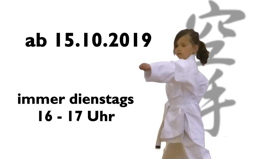 Neuer Anfängerkurs für Kinder