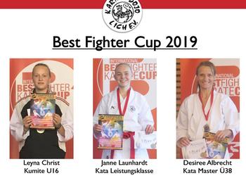 Erfolgreiche Teilnahme am Best Fighter Cup