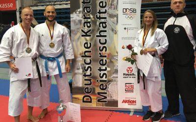 Erfolge auf der deutschen Meisterschaft